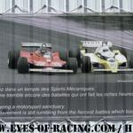 Affiche Circuit Dijon - Prenois - Duel ARNOUX / VILLENEUVE - Série V de V FFSA DIJON 2012