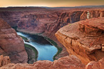 Grand Canyon et le fleuve Colorado
