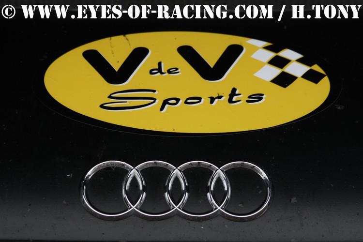 Insigne AUDI - V de V Sports - GT/Tourisme Série - V de V FFSA DIJON 2012