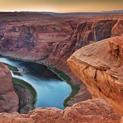 Grand Canyon et le fleuve Colorado