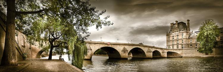 Pont du Louvre et les quais de Seine à Paris - Serge Ramelli