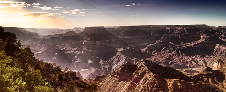 Panoramique HDR du Grand Canyon en Arizona