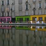 Canal de l'Ourcq in Paris