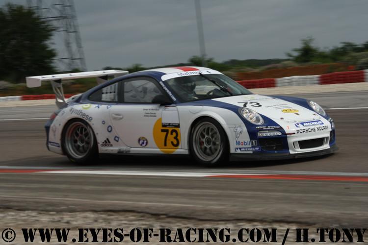N°73 – COLANCON Philippe – ARROBIO Philippe – Porsche 997 Cup – NOURRY COMPETITION – GT/ Tourisme - Série V de V FFSA DIJON 2012
