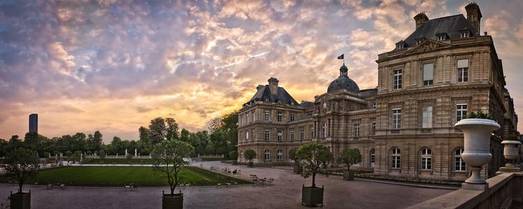 Le s nat au palais du luxembourg serge ramelli for Au jardin du port le palais