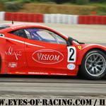 N°2 – PAGNY Jean- Paul – PERRIER Thierry – BOUVET J-B – Ferrari 458 GT 2 – VISIOM - GT / Tourisme - Série V de V FFSA DIJON 2012