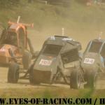 N°105 - MUNOZ Kevin - N°99 - LACOTE Mathieu - N°94 - BELUZO Julien - OPEN CARBU - Trophée du Sud- Est de Kart Cross - CHAMPIER 2012