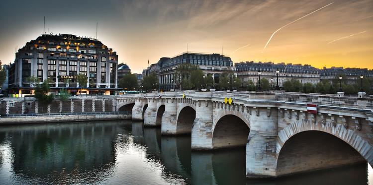 Pont Neuf et la Samaritaine