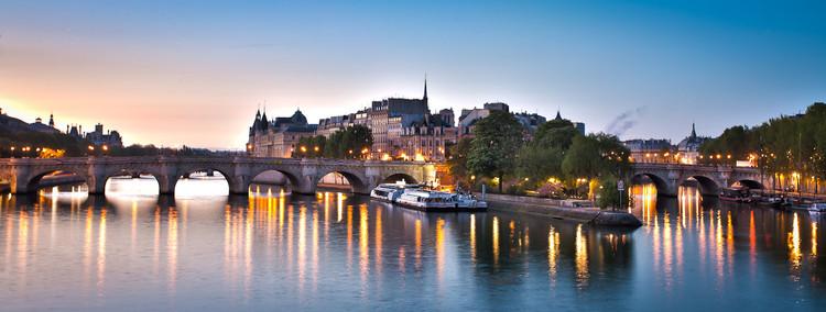 Pont Neuf et Ile de la Cité à l'aube