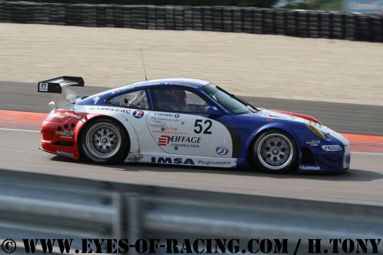 – N°52 – MILESI Patrice -  NARAC Raymond – Porsche 997 RSR – IMSA PERF MATMUT – GT / TOURISME - Série V de V FFSA DIJON 2012