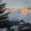 Vu depuis les Arcs dans la vallée de la haute Tarentaise