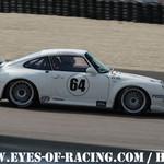 N°64 - VINCENOT Eric - GUEMON Thierry - Porsche 993 RSR - PLEXTONE RACING - GT/TOURISME - Série V de V FFSA DIJON 2012