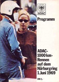 1000 km du Nürburgring 1969 Poster