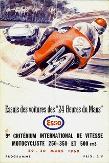 Essais du Mans 1969 Poster