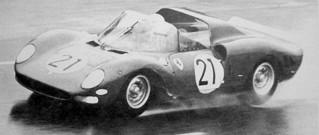 Essais du Mans 1965 Ferrari 330 P2 Parkes-Bandini-Guichet-Biscaldi
