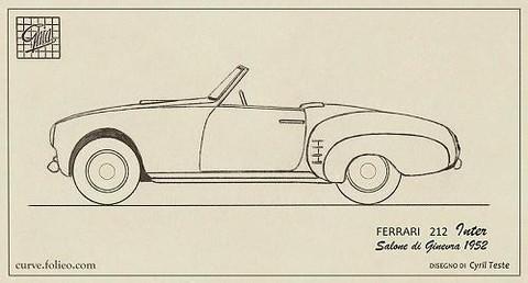 Ferrari 212 Inter Cabriolet Ghia