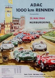 Nürburgring 1964 Poster