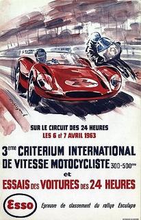 Essais du Mans 1963 Poster