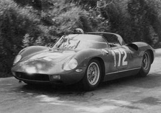 Targa Florio 1963 Ferrari 250 P Mairesse Scarfiotti