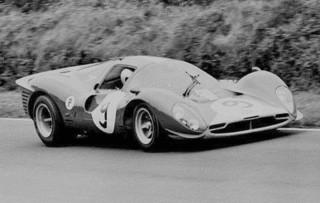 Brands Hatch 1967 Ferrari 412 P Piper Attwood