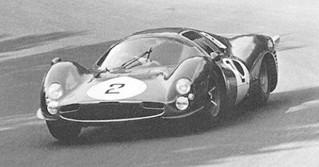 Nürburgring 1966 Ferrari 330 P3 Surtees Bandini