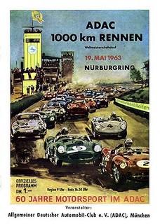 Nürburgring 1963 Poster