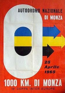 Monza 1965 Poster