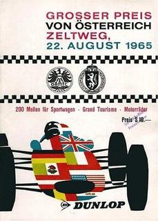 Zeltweg 1965 Poster
