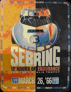 Sebring 1966 Poster
