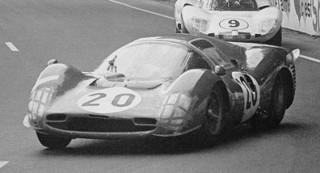 24 Heures du Mans 1966 Ferrari 330 P3 Parkes Scarfiotti