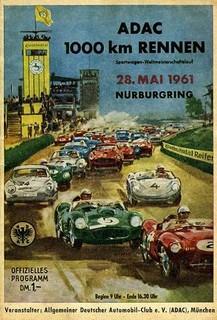 1961 Nürburgring Poster
