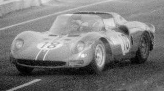 24 Heures du Mans 1965 Ferrari 365 P2 P. Rodriguez Vaccarella