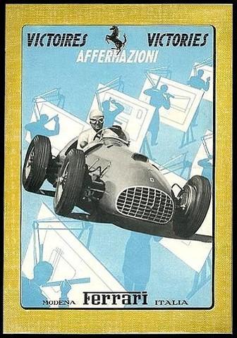 Annuaire Ferrari 1950