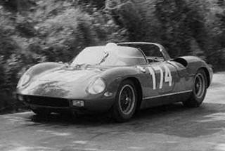 Targa Florio 1963 Ferrari 250 P Surtees Parkes