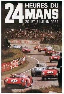 24 Heures du Mans 1964 Poster
