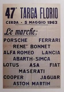 Targa Florio 1963 Poster