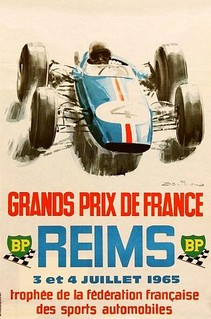 Reims 1965 Poster