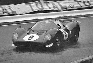 Montlhéry 1967 Ferrari 412 P Piper Siffert