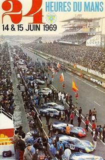 24 Heures du Mans 1969 Poster