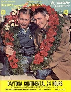 24 Heures de Daytona 1967 Poster