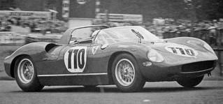 Nürburgring 1963 Ferrari 250 P Surtees Mairesse