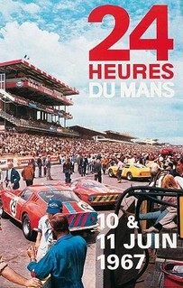 24 Heures du Mans 1967 Poster