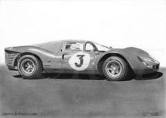 Vainqueur des 1000 km de Monza 1967