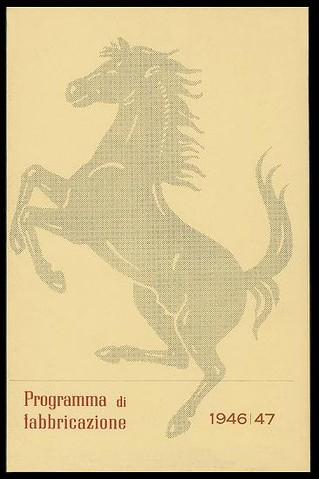 Annuaire Ferrari 1946-47
