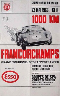 Spa-Francorchamps 1966 Poster