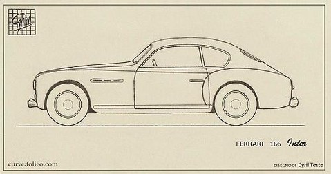 Ferrari 166 Inter Coupé Ghia