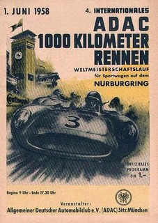 1958 Nürburgring Poster