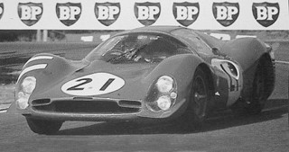 24 Heures du Mans 1966 Ferrari 330 P3 Bandini Guichet
