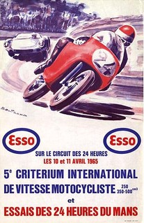 Essais du Mans 1965 Poster