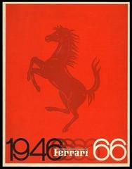Annuaire Ferrari 1966